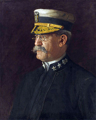 Rear Admiral Charles Dwight Sigsbee, 1903   Thomas Eakins   Painting Reproduction