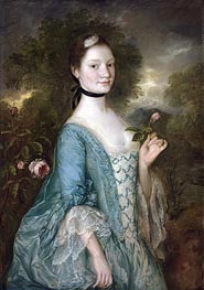 Gainsborough | Sarah, Lady Innes, c.1757 | Giclée Canvas Print