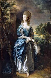 Gainsborough | The Hon. Frances Duncombe, c.1777 | Giclée Canvas Print