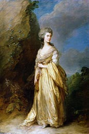 Gainsborough | Mrs. Peter William Baker, 1781 | Giclée Canvas Print