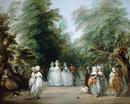 Gainsborough | The Mall in St. James's Park, c.1783 | Giclée Canvas Print