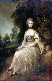 Gainsborough | Mrs. Mary Robinson (Perdita), 1781 | Giclée Canvas Print