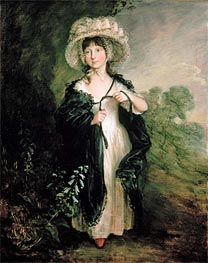 Gainsborough | Miss Elizabeth Haverfield, c.1782 | Giclée Canvas Print