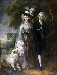 Gainsborough | Mr and Mrs William Hallett (The Morning Walk), 1785 | Giclée Canvas Print