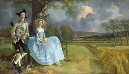 Gainsborough | Mr and Mrs Andrews, c.1749/50 | Giclée Canvas Print