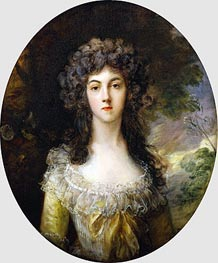 Gainsborough | Portrait of Mrs Charles Hatchett, c.1786 | Giclée Canvas Print