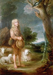 Gainsborough | Shepherd Boy Listening to a Magpie, Undated | Giclée Canvas Print