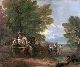 Gainsborough | The Harvest Wagon, c.1767 | Giclée Canvas Print