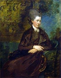 Gainsborough | Portrait of Georgiana Poyntz, Countess Spencer, c.1780/81 | Giclée Canvas Print