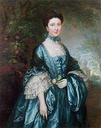 Gainsborough | Miss Theodosia Magill, Countess Clanwilliam, 1765 | Giclée Canvas Print