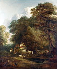 Gainsborough | The Market Cart, 1786 | Giclée Canvas Print