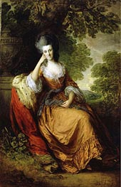 Gainsborough | Lady Anne Hamilton Lady Anne Hamilton, later Duchess of Donegall, c.1777/80  | Giclée Canvas Print