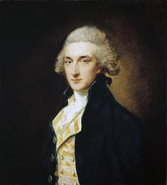 Gainsborough | Sir John Edward Swinburne, 1785 | Giclée Canvas Print