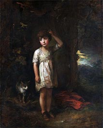 Gainsborough | A Boy with a Cat (Morning), 1787 | Giclée Canvas Print