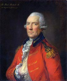 Gainsborough | Lieutenant Colonel Paul Pechell, Undated | Giclée Canvas Print