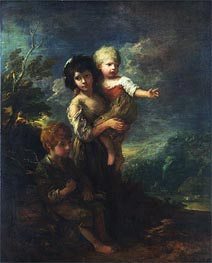 Gainsborough | The Wood Gatherers, 1787 | Giclée Canvas Print