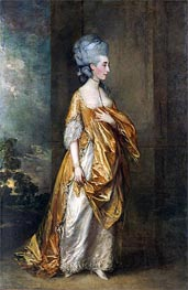 Gainsborough | Mrs. Grace Dalrymple Elliott, 1778 | Giclée Canvas Print