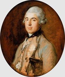 Gainsborough | Captain Thomas Mathews, c.1772 | Giclée Canvas Print