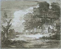 Gainsborough | Landscape, 1780 | Giclée Paper Print