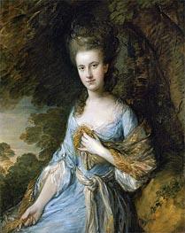 Gainsborough | Portrait of Miss Sarah Buxton, c.1776/77 | Giclée Canvas Print