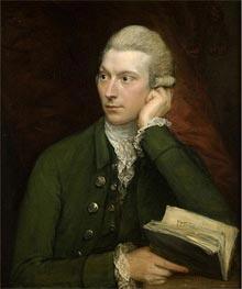 Gainsborough | Portrait of John Palmer, c.1775 | Giclée Canvas Print