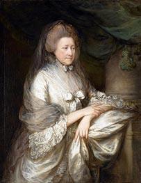 Gainsborough | Viscountess Folkestone, c.1778 | Giclée Canvas Print