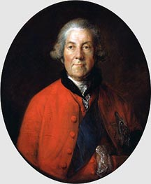 Gainsborough | Portrait of John Russell, 4th Duke of Bedford, c.1770 | Giclée Canvas Print