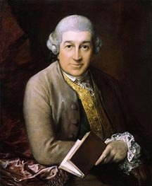 Gainsborough | Portrait of David Garrick, 1770 | Giclée Canvas Print