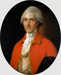 Gainsborough | Sir Benjamin Thompson, later Count Rumford, 1783 | Giclée Canvas Print
