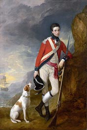 Gainsborough | An Officer of the 4th Regiment of Foot, c.1776/80 | Giclée Canvas Print