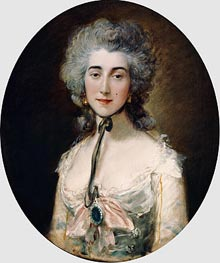 Gainsborough | Grace Dalrymple Elliott, c.1782 | Giclée Canvas Print