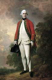 Gainsborough | Portrait of George Pitt, First Lord Rivers, c.1768/69 | Giclée Canvas Print