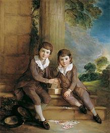 Gainsborough   Master John Truman-Villebois and his Brother Henry, c.1783   Giclée Canvas Print