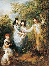 Gainsborough   The Marsham Children, 1787   Giclée Canvas Print