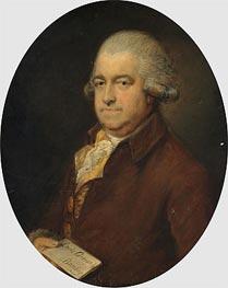 Gainsborough   Portrait of Mr G Hammond, Undated   Giclée Canvas Print