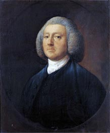 Gainsborough   Portrait of Dr. William Walcot, Undated   Giclée Canvas Print