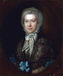 Gainsborough   Portrait of Miss Low, Undated   Giclée Canvas Print