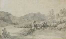 Gainsborough | A View in the Lake District, Undated | Giclée Paper Print