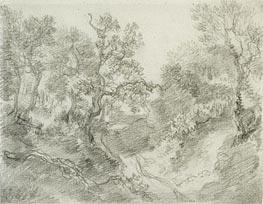 Gainsborough   Wooded Landscape, Undated   Giclée Paper Print