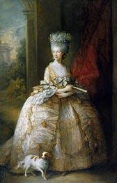 Gainsborough   Queen Charlotte, 1781   Giclée Canvas Print