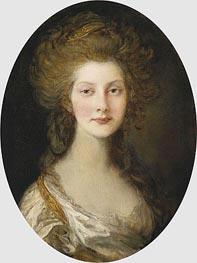 Gainsborough   Princess Augusta, 1782   Giclée Canvas Print