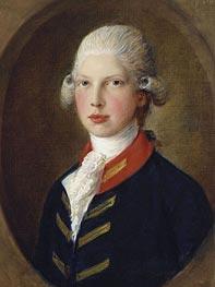 Gainsborough   Prince Edward, later Duke of Clarence, 1782   Giclée Canvas Print
