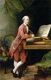 Gainsborough | Johann Christian Fischer, c.1774 | Giclée Canvas Print