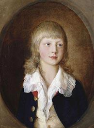 Gainsborough | Prince Adolphus, later Duke of Cambridge | Giclée Canvas Print
