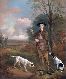 Gainsborough | Major John Dade of Tannington, Suffolk | Giclée Canvas Print