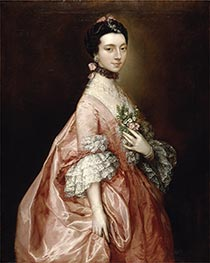Mary Little, later Lady Carr, c.1765 by Gainsborough | Giclée Canvas Print