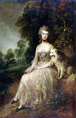 Mrs. Mary Robinson (Perdita), 1781 | Gainsborough | Painting Reproduction