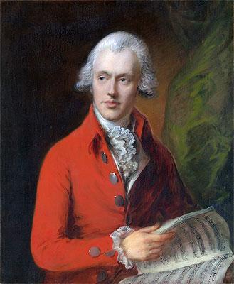 Charles Rousseau Burney, c.1775/80   Gainsborough   Painting Reproduction