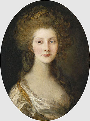 Princess Augusta, 1782   Gainsborough   Painting Reproduction