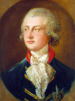 George IV, when Prince of Wales, 1782   Gainsborough   Painting Reproduction